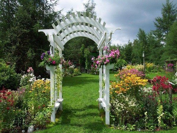 Paysage jardin fleuri for Paysage de jardin