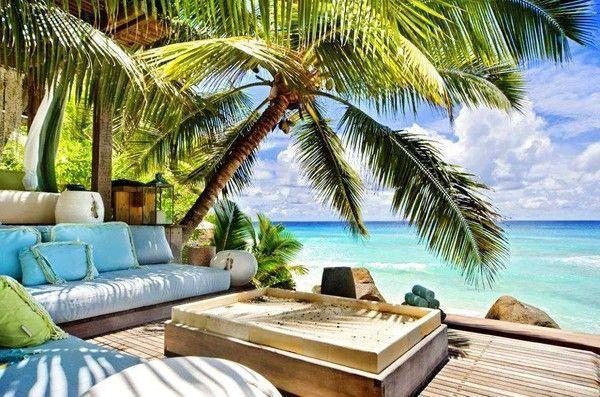 paysage paradisiaque. Black Bedroom Furniture Sets. Home Design Ideas